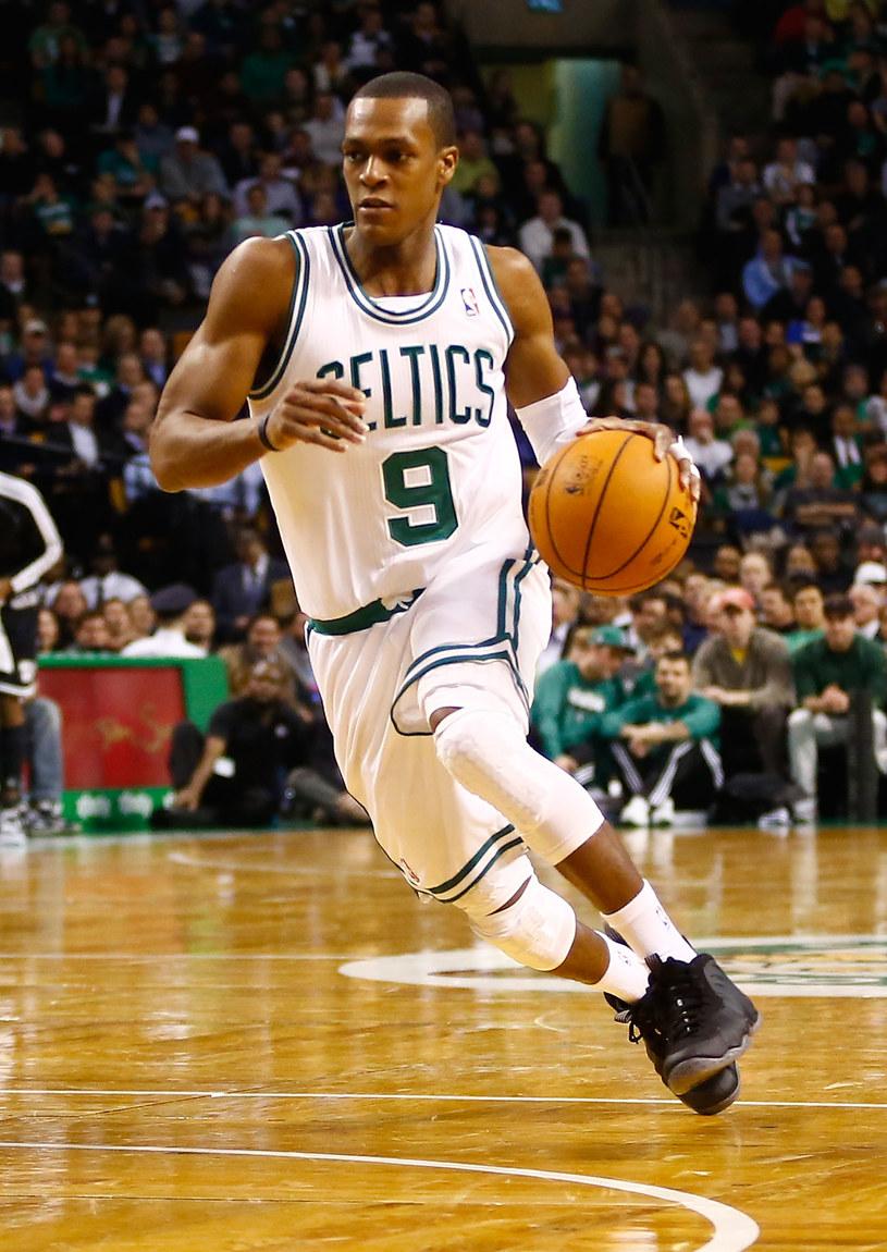 Zawodnik Boston Celtics Rajon Rondo. /AFP