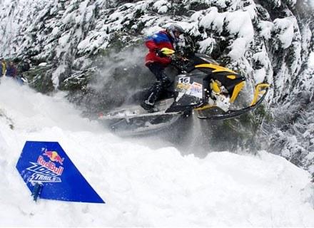Zawodnik na trasie. Fot.: Red Bull /materiały prasowe