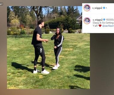 Zawodnik NBA Zach LaVine zaskoczył swoją ukochaną. Tego się nie spodziewała! Wideo