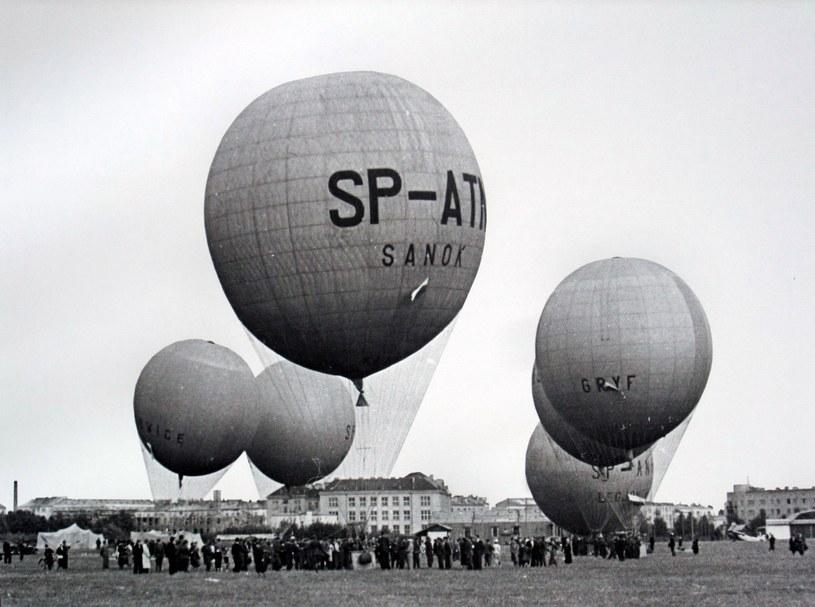 Zawody baloniarskie w Warszawie. Rok 1938 /East News