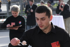 Zawody kelnerów i kelnerek w Krakowie