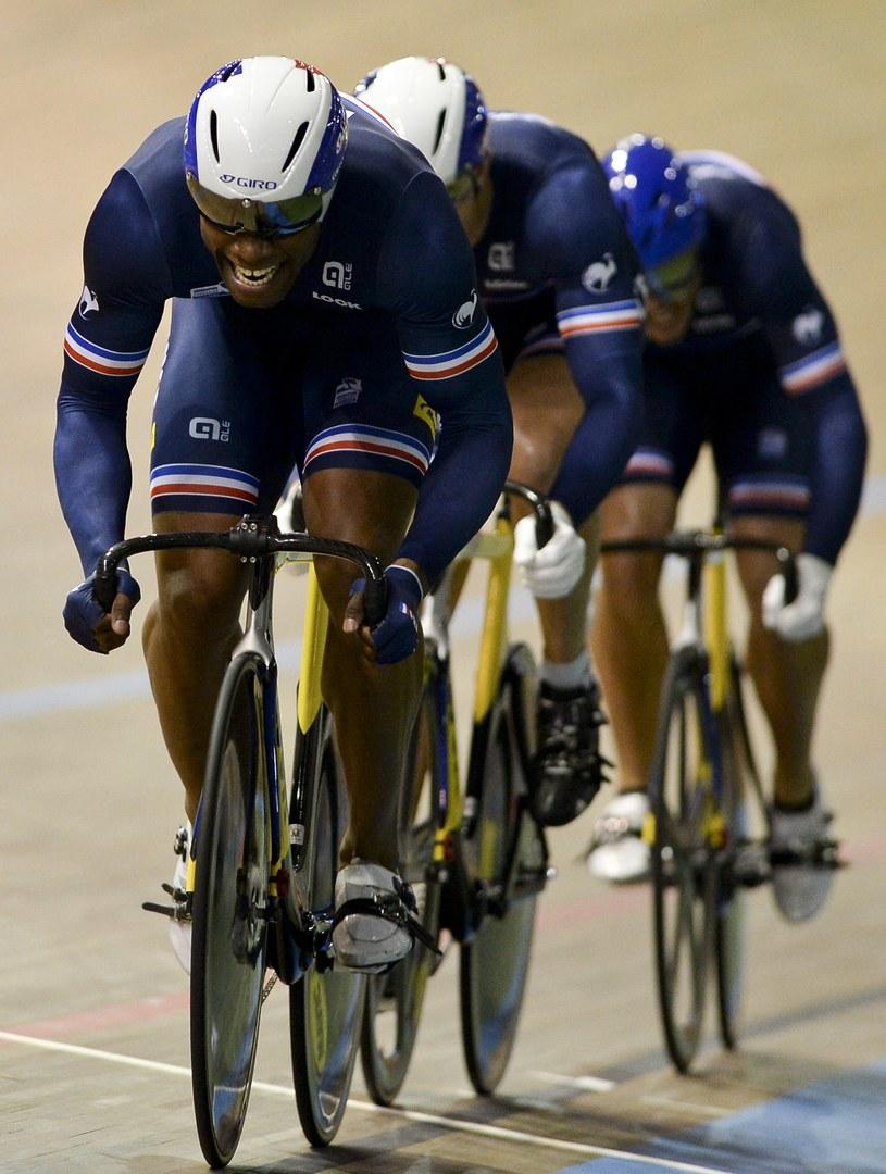 Zawody w Cali wygrali Francuzi /AFP