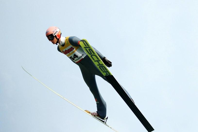 Zawody w Hinterzarten wygrał Karl Geiger /Newspix