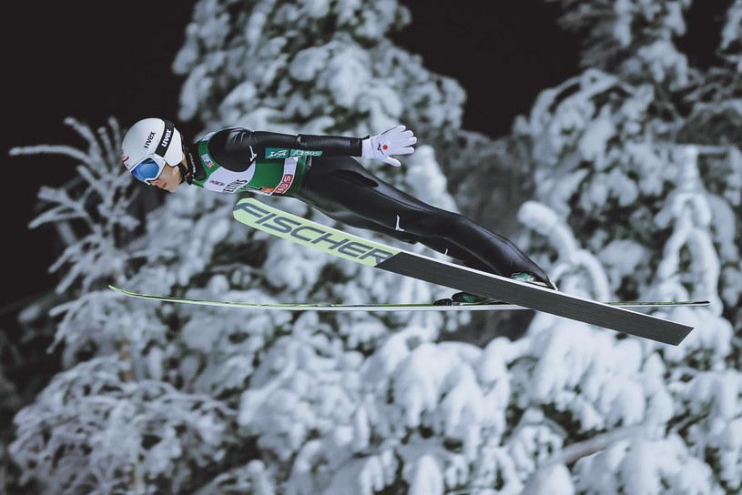 Zawody w skokach narciarskich w Ruce w północnej Finlandii /EXPA/Tadeusz Mieczyński /Newspix