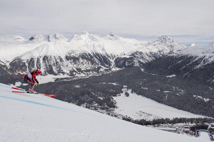 Zawody w St. Moritz /PAP/EPA