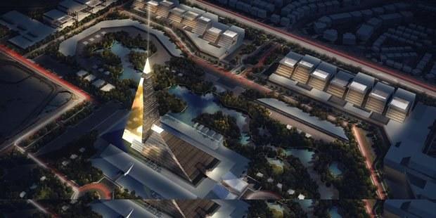 Zayed Crystal Spark będzie składał się z 2 szklanych piramid /materiały prasowe