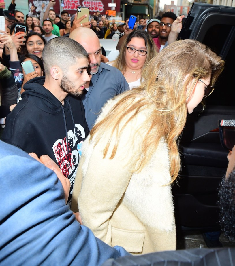 Zayn Malik i Gigi Hadid /247PAPS.TV / Splash News /East News