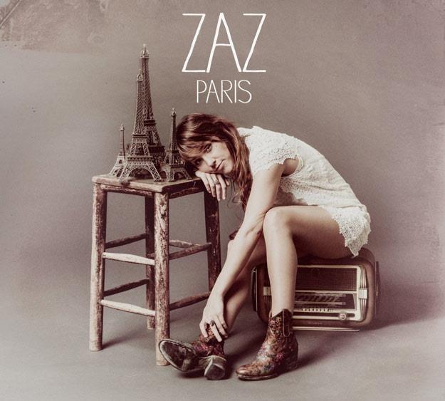 """Zaz na okładce albumu """"Paris"""" /"""