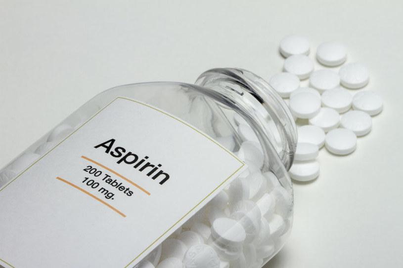Zażywanie aspiryny zmniejsza ryzyko wystąpienia nowotworów /123RF/PICSEL