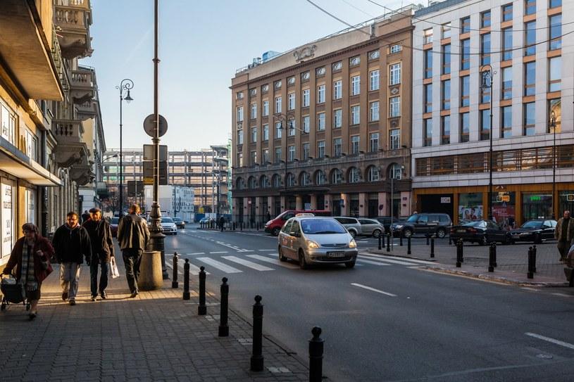 Zbieg ulic Zgody, Chmielnej ,Szpitalnej i Brackiej; zdj. ilustracyjne /Adam Burakowski /Reporter