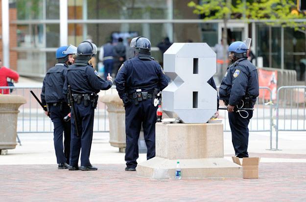 Zbiegów szuka 200 policjantów (zdjęcie ilustracyjne) fot. Greg Fiume / GETTY IMAGES NORTH AMERICA /AFP