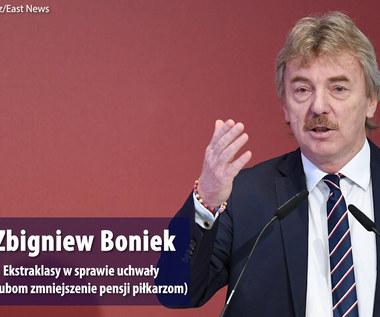 Zbigniew Boniek dla Interii o naciskach Ekstraklasy i obniżce pensji Jerzego Brzęczka. Wideo