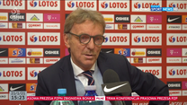 Zbigniew Boniek: Do Roberta Lewandowskiego zadzwoniłem po zwolnieniu trenera (POLSAT SPORT). Wideo