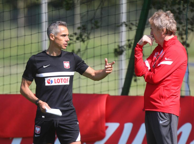 Zbigniew Boniek (po prawej) i Paulo Sousa /GRZEGORZ DEMBINSKI /East News