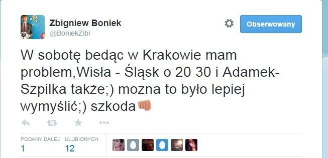 Zbigniew Boniek poruszył problem na Twitterze. /INTERIA.PL