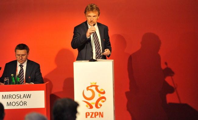 Zbigniew Boniek, prezes PZPN-u /Bartłomiej Zborowski /PAP