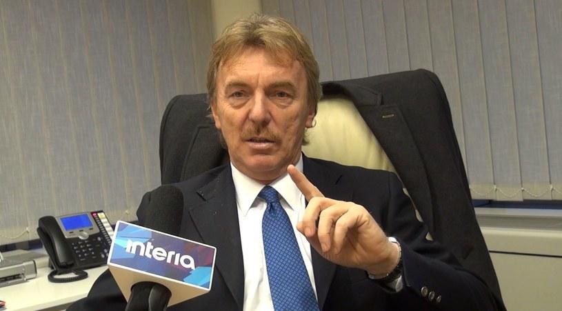 Zbigniew Boniek, prezes PZPN-u /INTERIA.PL
