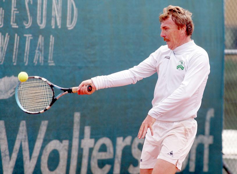 Zbigniew Boniek to nie tylko kibic, ale i zapalony tenisista /DARIUSZ HERMIERSZ / NEWSPIX.PL /Newspix