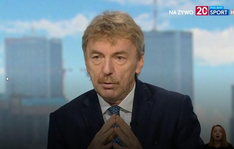 Zbigniew Boniek w Cafe Futbol /INTERIA.PL