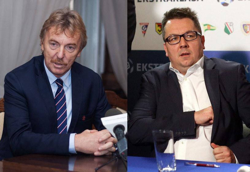 Zbigniew Boniek (z lewej) i Maciej Wandzel /Artur Szczepanski/REPORTER /East News