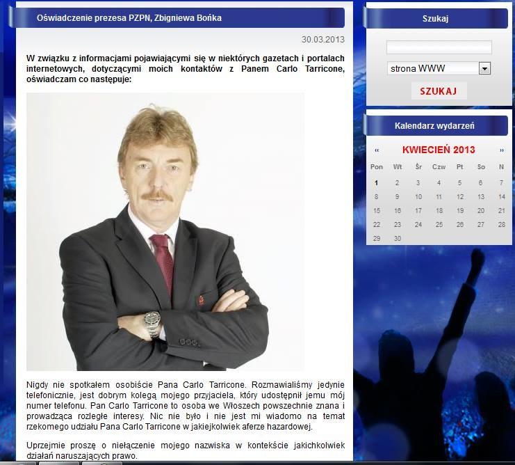 Zbigniew Boniek zabrał głos na oficjalnej stronie PZPN-u. /PZPN