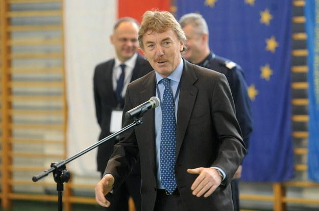 Zbigniew Boniek /Bartłomiej Zborowski /PAP