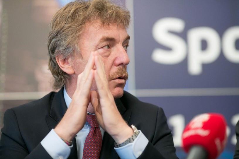 Zbigniew Boniek /Tomasz RYTYCH /Reporter