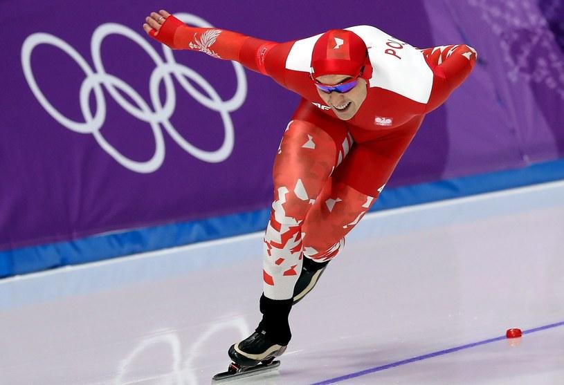 Zbigniew Bródka na olimpijskim torze w Gangneung /AFP