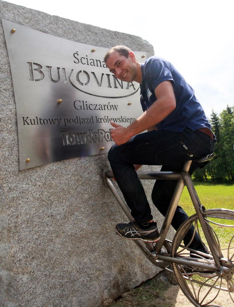 Zbigniew Bródka wystartuje w amatorskim Tour de Pologne /fot. Grzegorz Momot /PAP
