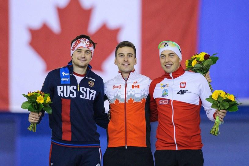 Zbigniew Bródka (z prawej) /AFP