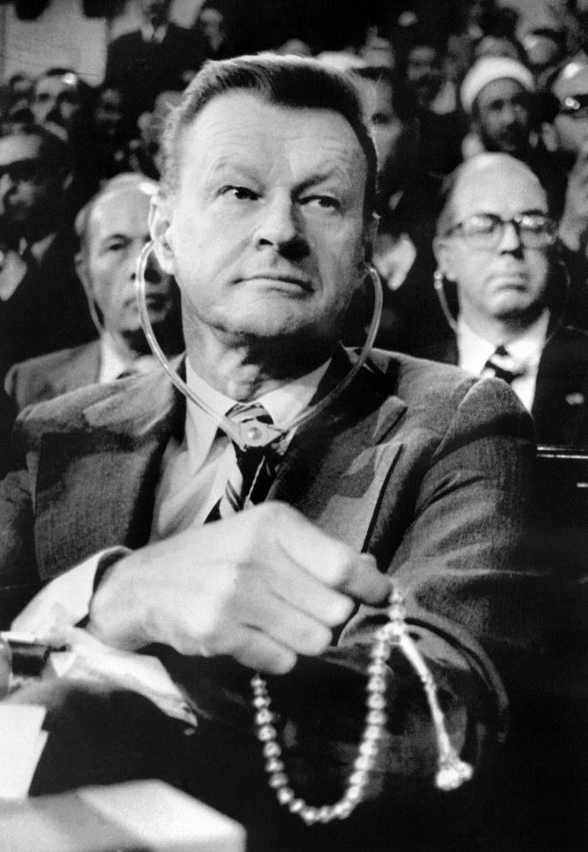 Zbigniew Brzeziński w Kairze, 03.10.1979 /AFP /AFP
