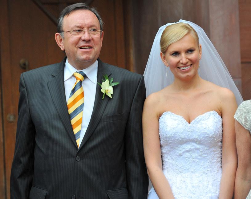Zbigniew Buczkowski jest dumny z córki Hanny. W wywiadzie zdradził, czym jego latorośl się zajmuje /Darek Majewski /Agencja FORUM