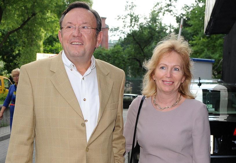 Zbigniew Buczkowski z żoną /MWMedia