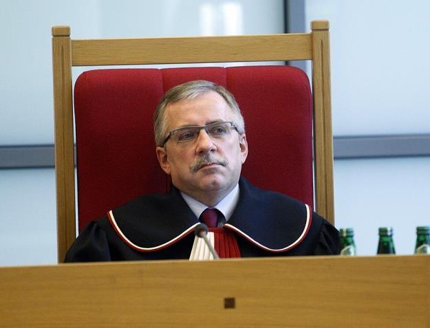 Zbigniew Cieślak, sędzia Trybunału Konstytucyjnego. Fot. Adam Guz /Reporter