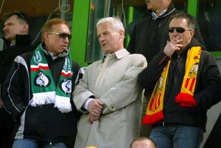 Zbigniew Drzymała (z lewej) /Agencja Przegląd Sportowy