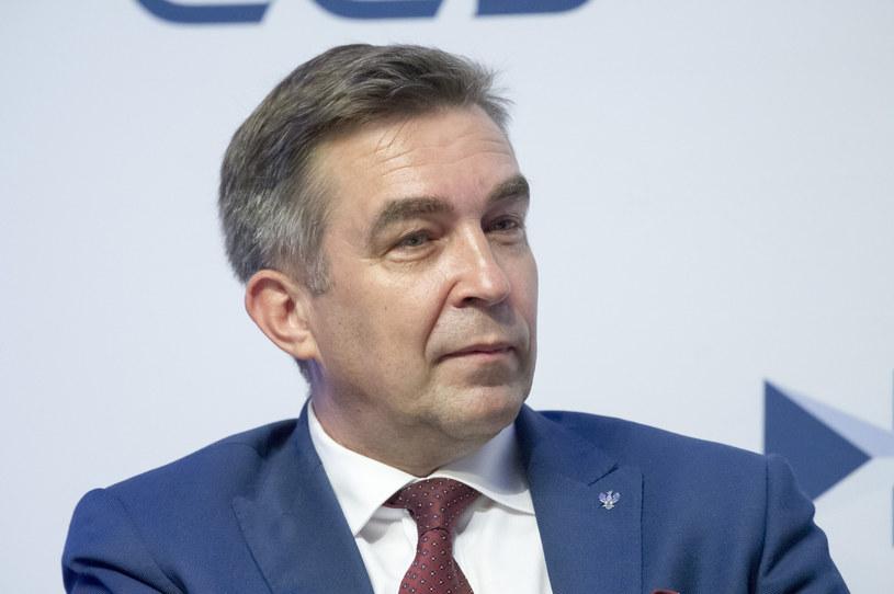 Zbigniew Gryglas, wiceminister aktywów państwowych. /Wojciech Stróżyk /Reporter