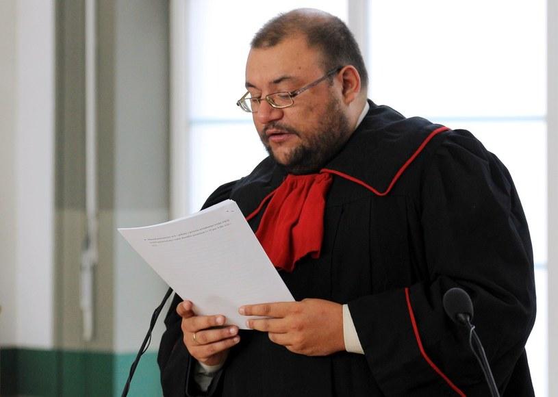 Zbigniew Grześkowiak z Prokuratury Apelacyjnej w Katowicach /Artur Barbarowski /East News