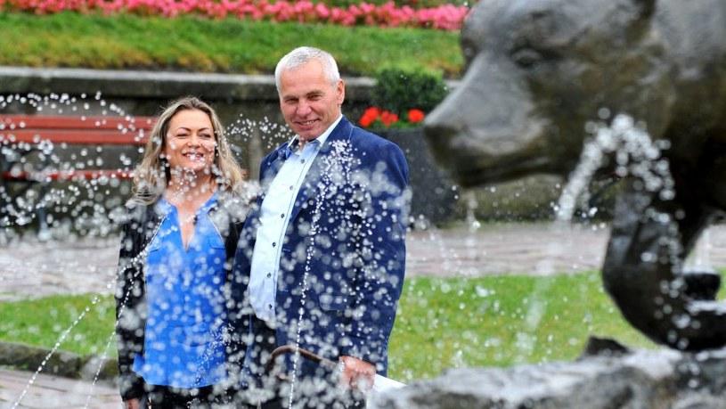 Zbigniew i Irena wydawali się zakochaną parą /TVP