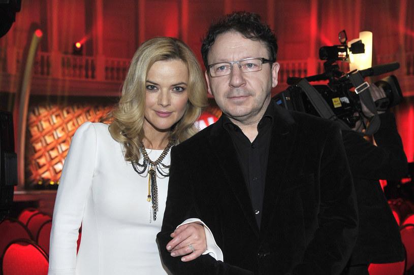 Zbigniew i Monika Zamachowscy /AKPA