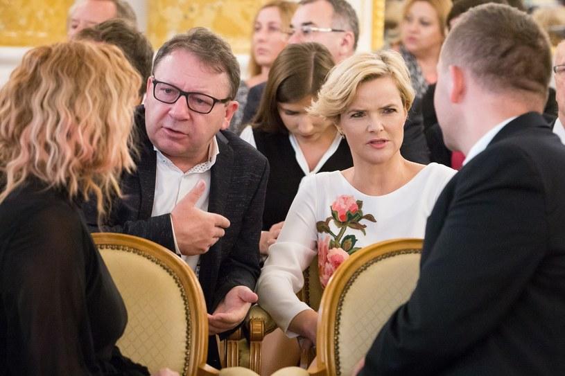 Zbigniew i Monika Zamachowscy /Agencja FORUM