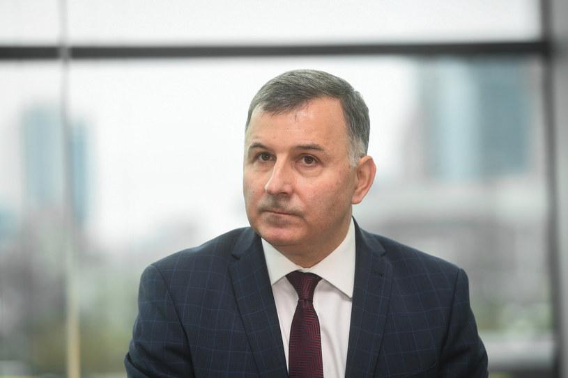 Zbigniew Jagiełło, prezes  PKO Banku Polskiego. /Jacek Domiński /Reporter