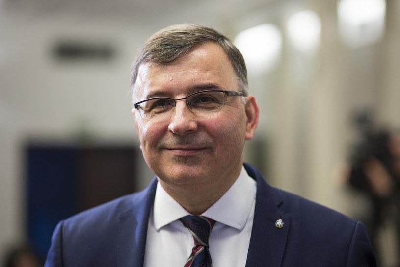 Zbigniew Jagiełło, prezes PKO Banku Polskiego /Andrzej Hulimka  /Reporter