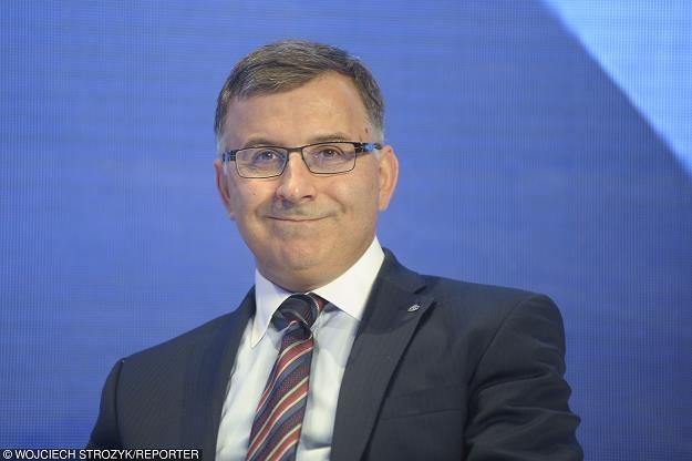 Zbigniew Jagiełło, prezes PKO BP. Fot. Wojciech Stróżyk /Reporter