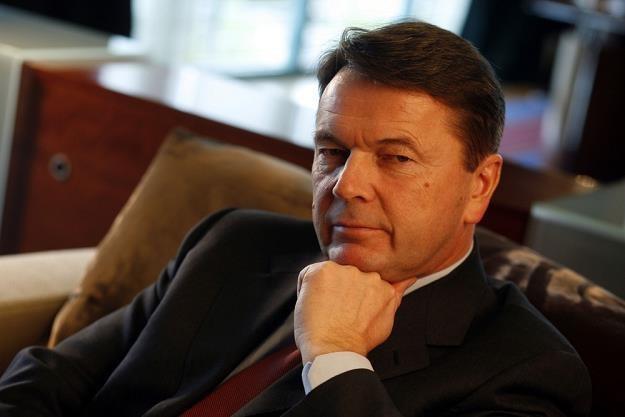 """Zbigniew Jakubas, inwestor działający m.in. na rynku kolejowym. Fot. Piotr Mizerski """"Forbes"""" /Reporter"""
