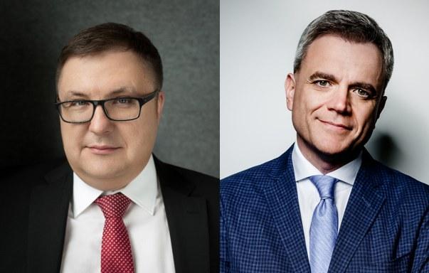 Zbigniew Okoń i Marcin Maruta z kancelarii Maruta, Wachta /materiały prasowe