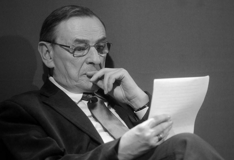 Zbigniew Romaszewski zmarł w wieku 74 lat /Witold Rozbicki /Reporter