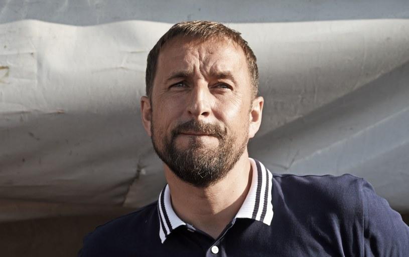 Zbigniew Smółka, trener Arki /Marek Lasyk  /East News