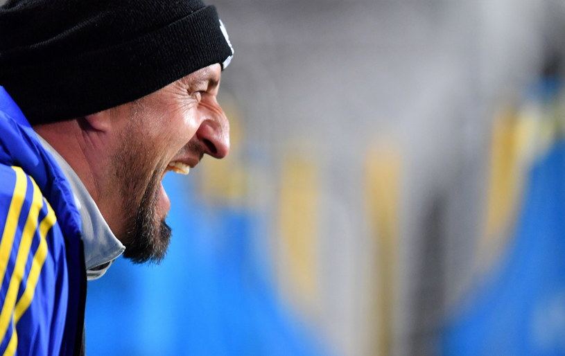 Zbigniew Smółka, trener Arki /Marcin Gadomski /PAP