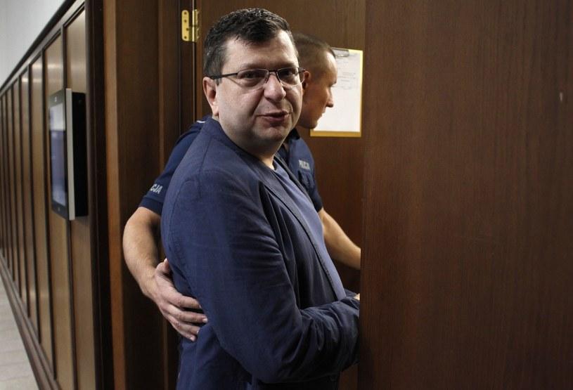 Zbigniew Stonoga w czwartek był w Sądzie Okręgowym w Warszawie, gdzie toczy się proces o znieważenie prezydenta /Stefan Maszewski /East News