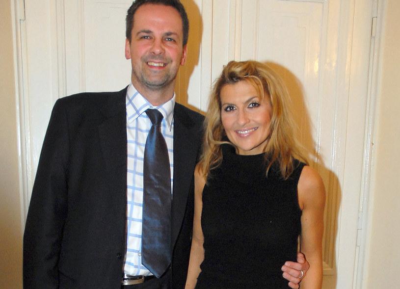 Zbigniew Urbański i Katarzyna Skrzynecka, 2006 rok /Kurnikowski /AKPA